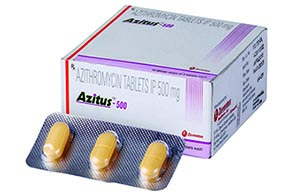 Azithromycin dose for capital